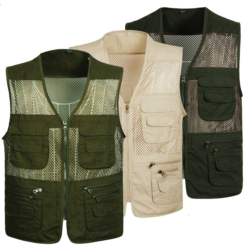 Summer Cotton Military Tactical Mesh Vest Men Breathable Pockets Vest Shooting Waistcoat Sleeveless Jacket Army Coat Plus Size men military tactical outdoor shirts 100% cotton breathable long sleeve shirt army multi pockets swat shooting urban sports