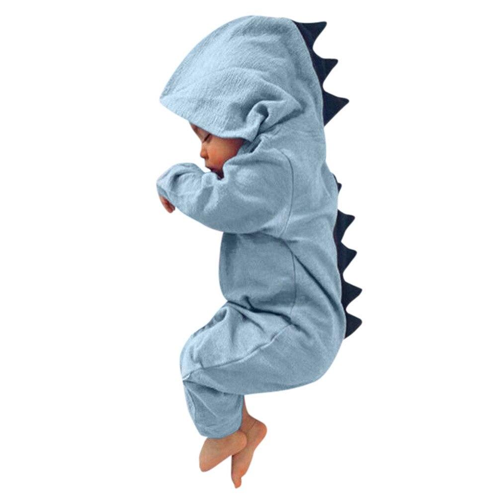 Baumwolle Sommer Babyspielanzug Dinosaurier bucht junge mädchen kleidung kleinkind Mit Kapuze neugeborenes Spielanzugoverall Outfits overall outfits