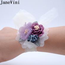 Искусственные цветы jaevini свадебные корсажи свадебный браслет