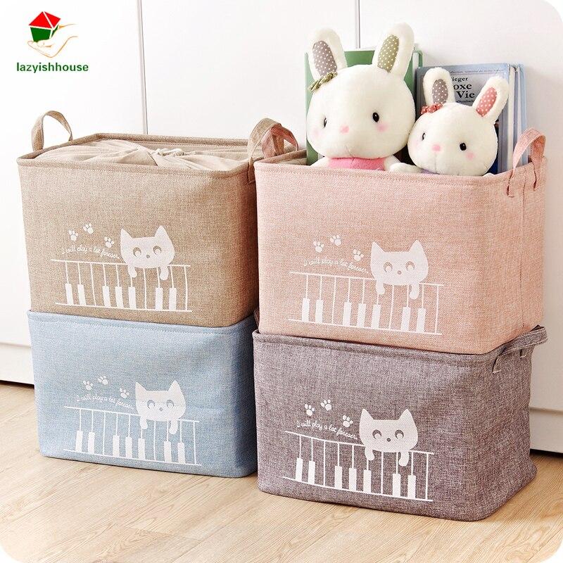 new waterproof dirty barrel folding toy creative clothes basket bra necktie socks storage box bag bins organizer laundry basket