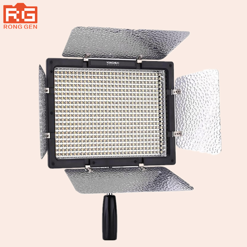 YONGNUO YN600L YN600 LED Video Light Panel with Adjustable Color Temperature 3200K-5500K photographic studio lighting yongnuo yn600 air pro led video light panel with 3200 5500k color temperature brightness adjustable for dslr camera dv camcorder