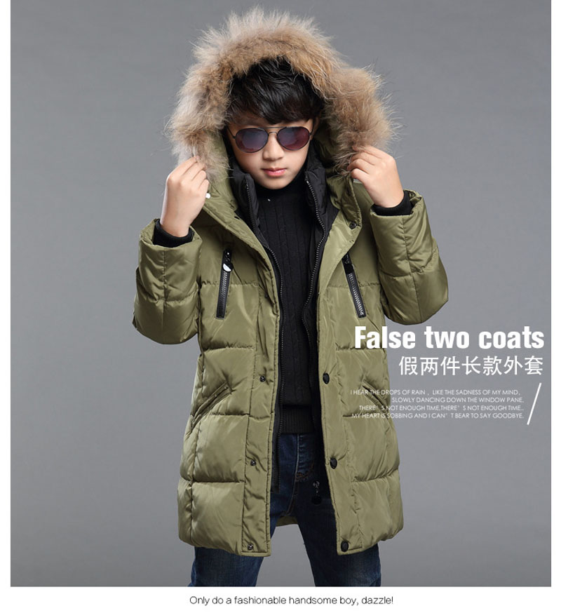 Teenage Parka Coats
