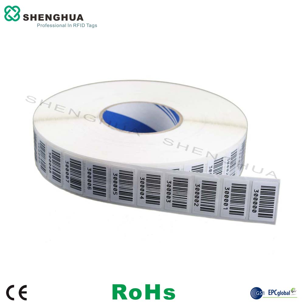 10pcs/lot Printable UHF RFID Self Adhesive Blank Label Stikcer Tag Price  Customization Avalibile For Smart Supermarket
