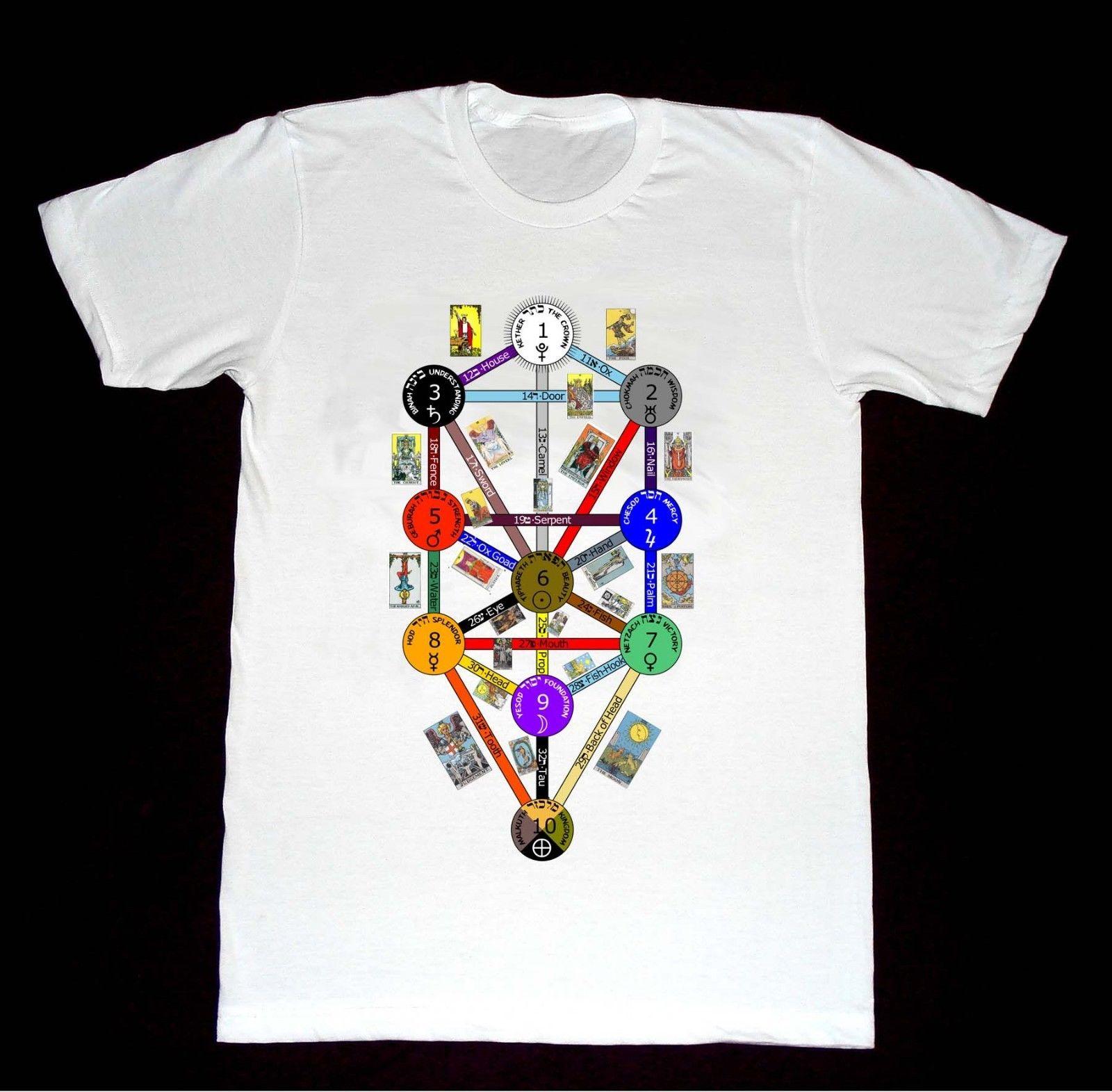 T-shirt Arbre de Vie – Tarot Kabbale