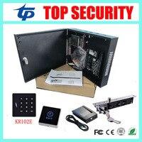 Интеллектуальная система контроля доступа карты 125 КГЦ RFID карты одной двери доступ к панели управления С3 100 withaccess контролю электрический за