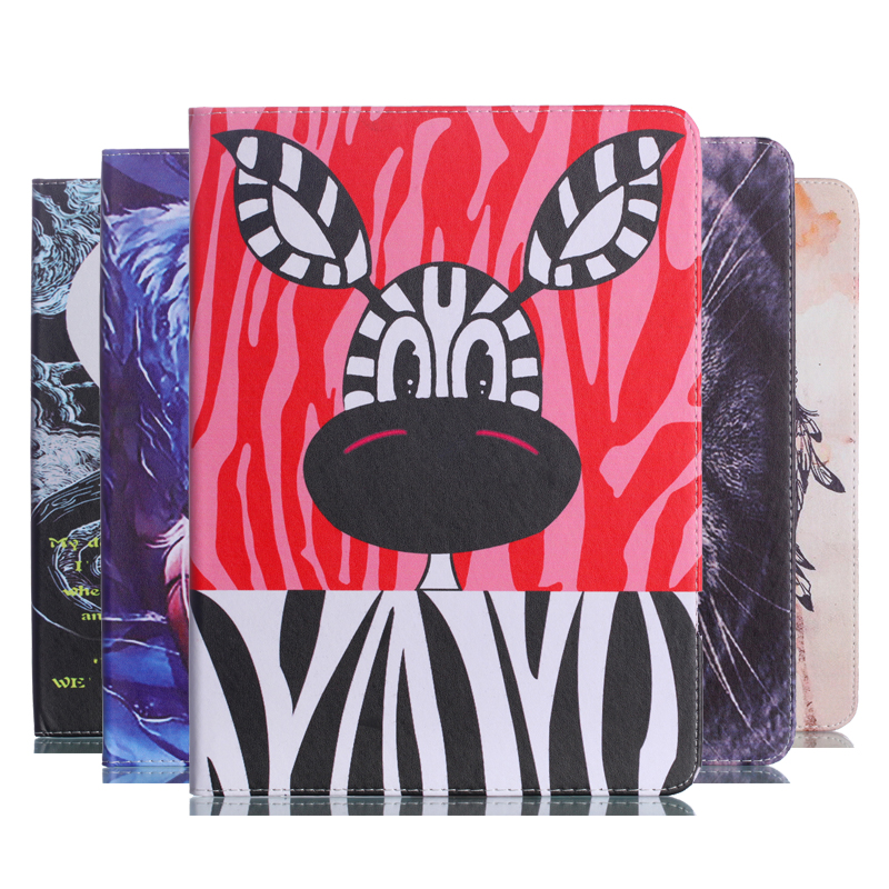 Painted Flip PU Leather Case For Samsung TAB S3 9.7