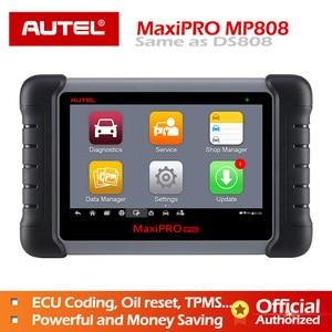 Autel MaxiPRO MP808 Diagnostic Tool OBD2 Professional OE-level OBDII Diagnostics Tool Key Coding PK MaxiDAS DS808 DS708  MS906