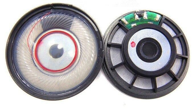 42mm speaker unit diy headset unit HD650 unit 54ohms(for open earphone housing) 1pair=2pcs 50mm speaker unit  plated beryllium unit