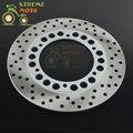 245mm rotor disco de freio traseiro para yamaha fz400 srx400 xjr400 fz600 fzs600 srx600 fzr600 yzf600 xj600 tdm850 tdm900 trx850 yzf1000r