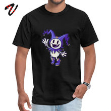 Cotton Fabric Men Jazz Sleeve Jack Frost Top T-shirts Geek Tops Shirts Funny Printed Crewneck Tee-Shirt Drop Shipping