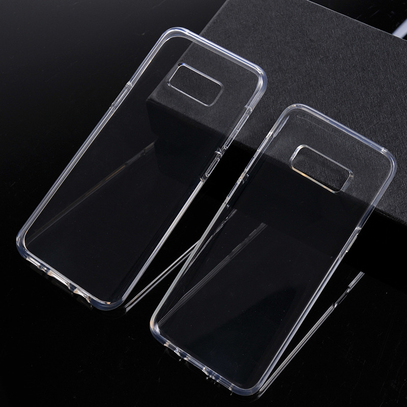 low priced cf166 bf4b0 US $1.98 |S8 Plus Soft Clear Transparent TPU Silicone Silicon Rubber Back  Cover Fundas Capinha Coque for Samsung Galaxy S8 Plus Case Capa on ...