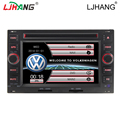 Wince 6.0 capacitive screen  car gps navigation for VW Passat B5 with car steering wheel control BT RDS FM AM free map