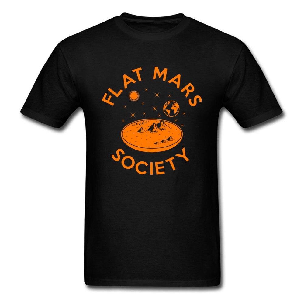 Retro Flat Mars Society Mens Tshirts Summer Tees No Button Punk Crazy Top T-shirts Free Shipping On Sale