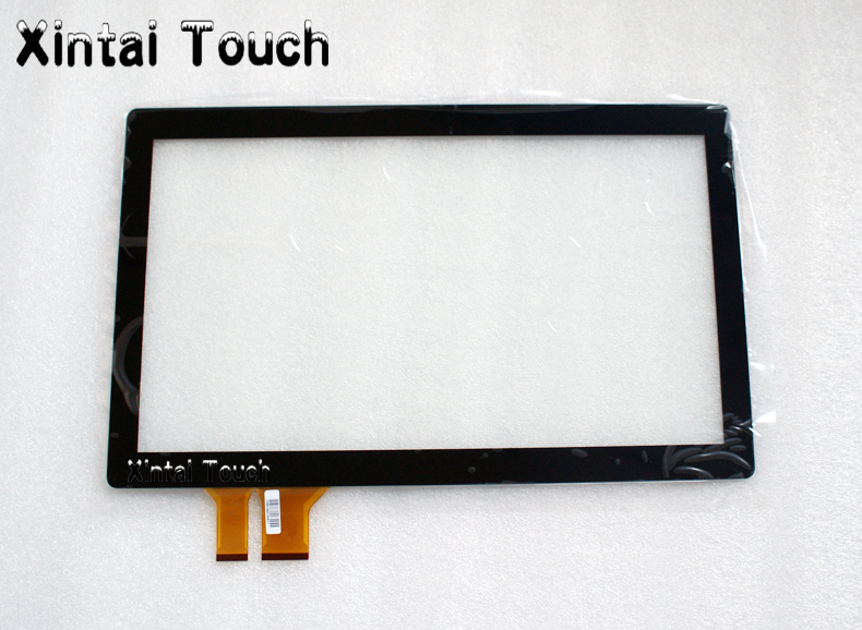 14 Inch USB Multi Projected Capacitive Touch Screen Panel Kit,Multi Touch Screen Overlay 10 Touch Points with USB Interface new type 14 inch 16 9 infrared ir touch screen ir touch frame overlay 2 touch points plug and works multi points