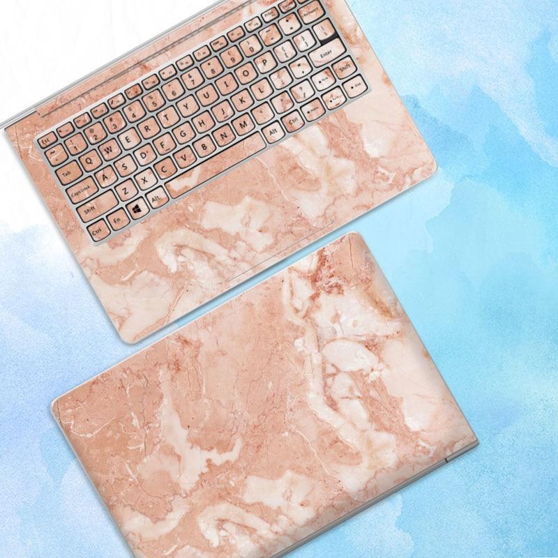 10 pcs/lot autocollant pour ordinateur portable autocollant de peau pour Macbook Air Microsoft Dell HP ASUS Lenovo Samsung ABC côtés autocollant de couverture complète - 4