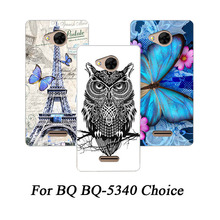 New Painting Phone Case Soft TPU Silicone Back Cover For BQ-