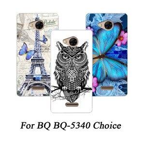 Nueva funda protectora para teléfono con pintura de TPU suave funda trasera de silicona para funda protectora de teléfono BQ-5340
