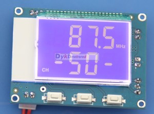 Image 5 - DYKB módulo receptor FM Digital estéreo, 76 108Mhz, Radio Digital + pantalla LCD, mando a distancia IR, 5W + 5W, amplificador de potencia, ajuste de volumen