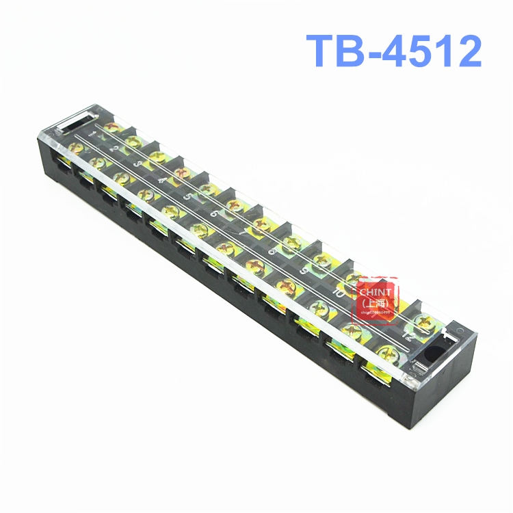 все цены на TB-4512 connection terminal row connection fixed wiring board 12 position connector current 12P 45A онлайн