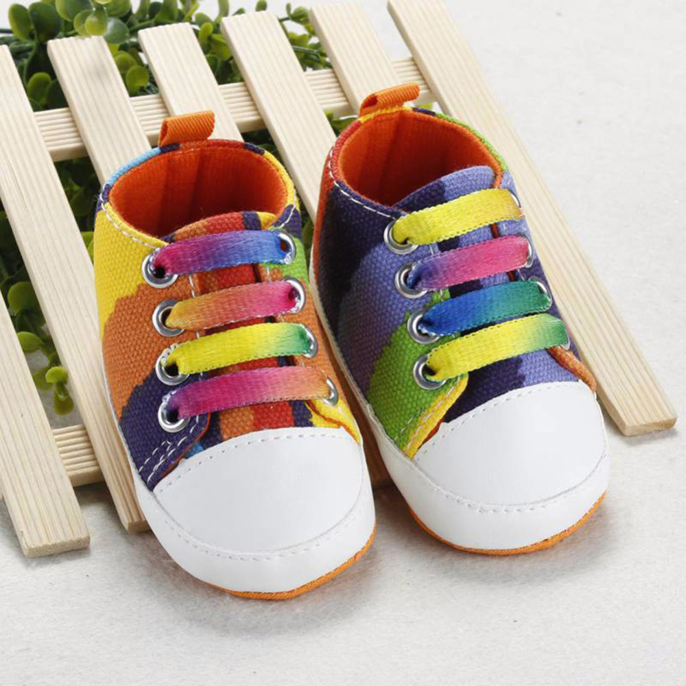 Fashion Children Shoes Baby Girls Boys Canvas Shoes Sneakers Fashion Kid Flat Loafers Kids Breathable School Sports Shoes