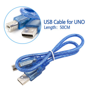 1.64FT мини микро USB кабель для Arduino для UNO R3,Mega 2560,Nano,Due R3 плата