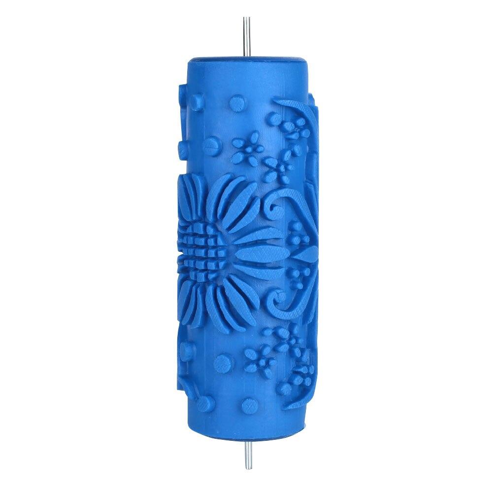 Уместная резиновая кисть для рулонных кистей обои для дома настенная Краска Инструмент липкая роликовая настенная роликовая щетка - Цвет: 010Y