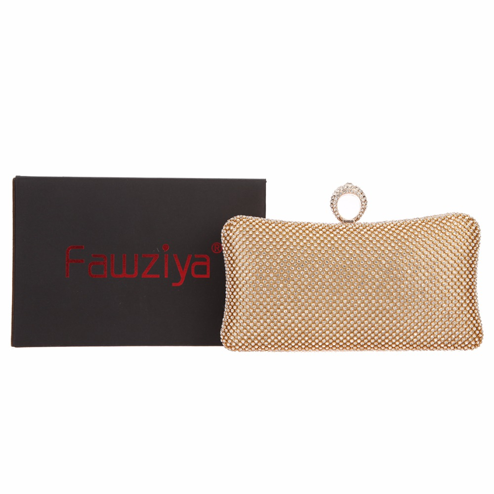 9ae1f78800 Fawziya Bling Ring Clutch Purse Women Rhinestone Clutch Evening Bags ...