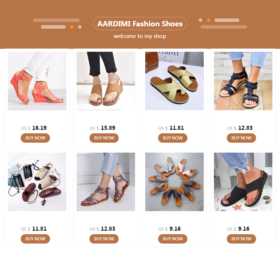 AARDIMI Women Sandals Summer Shoes Peep-toe Slip On Flat Sandals For Woman Roman Style Sandal Mujer Sandalias Ladies Flip Flops