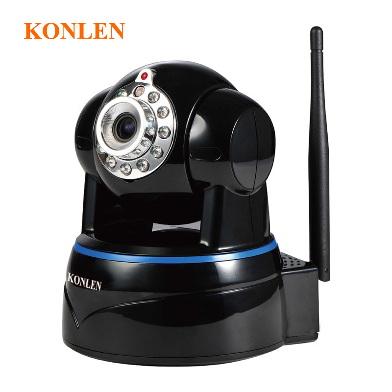 "bilder für Video 2MP WIFI Ip-kamera Full HD 1080 P 1/2. 7 ""CMOS Cctv Remote Heimnetzwerk Ipcam Wireless P2P Onvif PTZ Nachtsicht"