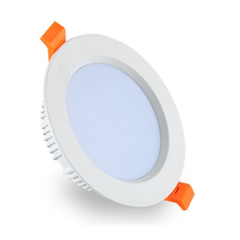 LED Downlight 3W 5W 7W 9W 12W 15W 18W Round Recessed Lamp 220V 230V 240V  Led Bulb Bedroom Kitchen Indoor LED Spot Lighting