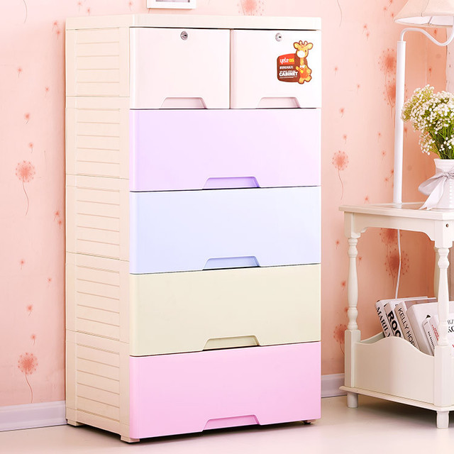 Music Also Thicker Lockers Baby Wardrobe Drawer Storage Cabinets Plastic Children S Clothes Finishing Chest Of