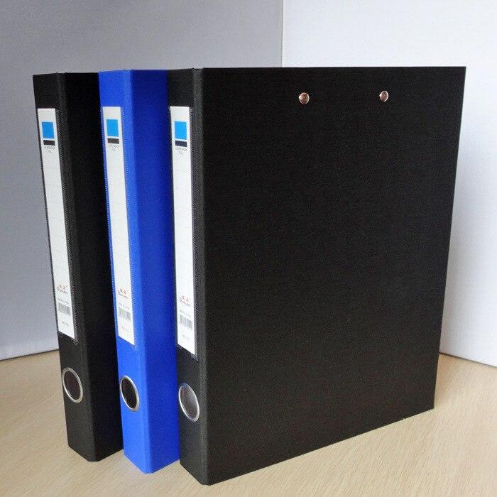Office Stationery Cardboard Folder Double Folder Multi-functional Data Splint Wholesale!