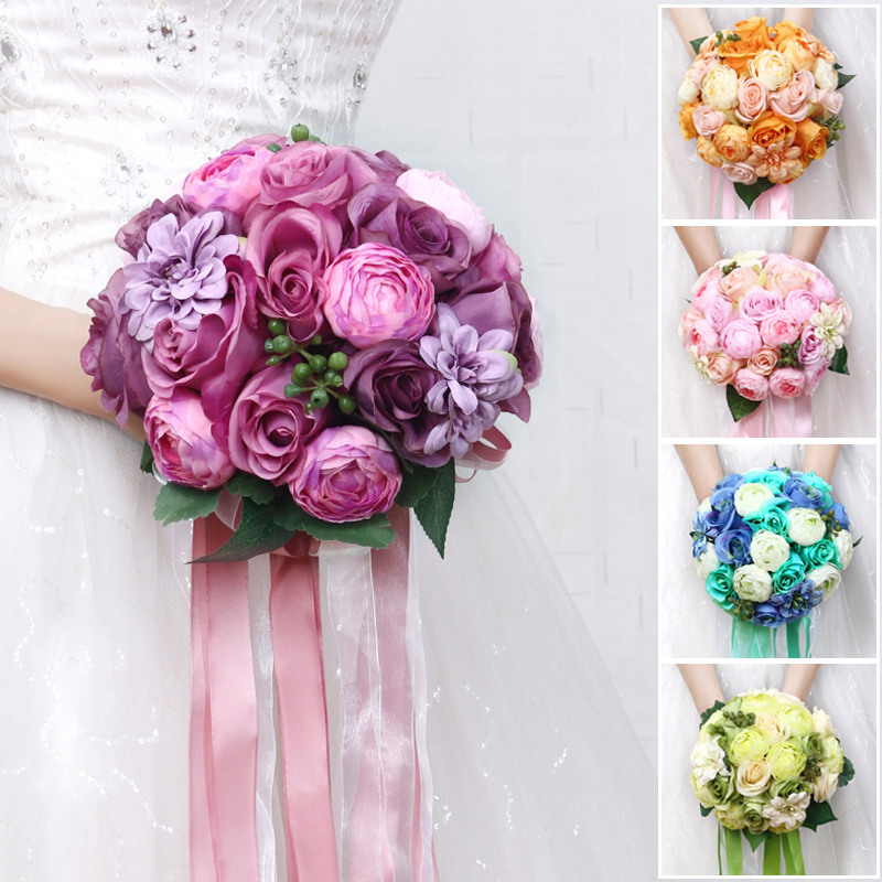 Flowers For Wedding Gift: Korea Wedding Bouquets Handmade Flowers Wedding