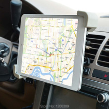 Car Tablet Holder 7 «-11″inch car air conditioning outlet universal bracket car navigation tablet IPAD mini IPAD2 / 3/4/5/6 used