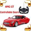 Novo Dom Chegada AMG GT 1/14 Portas De Carro de Controle Remoto RC Veículo Controlável Roadster Modelo Die-cast Diversão Ao Ar Livre jogo