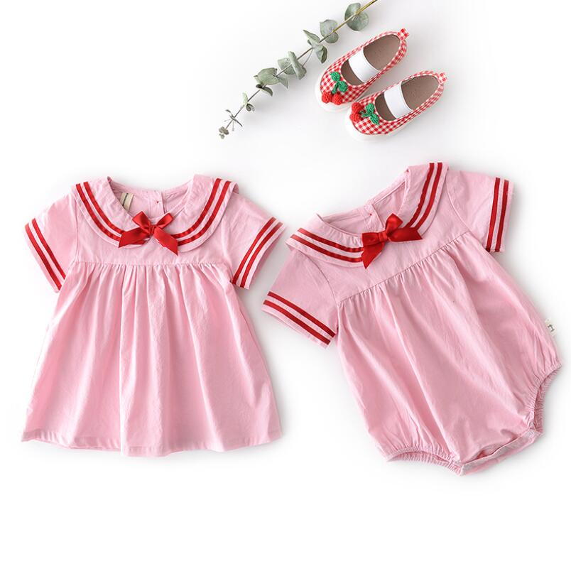 Women And Children Diligent Summer School Baby Toddler Clothes Outfits Girls Climbing Clothing Infant Baby Bodysuits Children Bodysuit Girl Clothes Jw7415 Suitable For Men