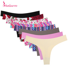 Wealurre New Women Underwear Invisible Seamless T Panties G-String Female Sexy Thongs Intimates Ultrathin Lingerie Ladies Briefs