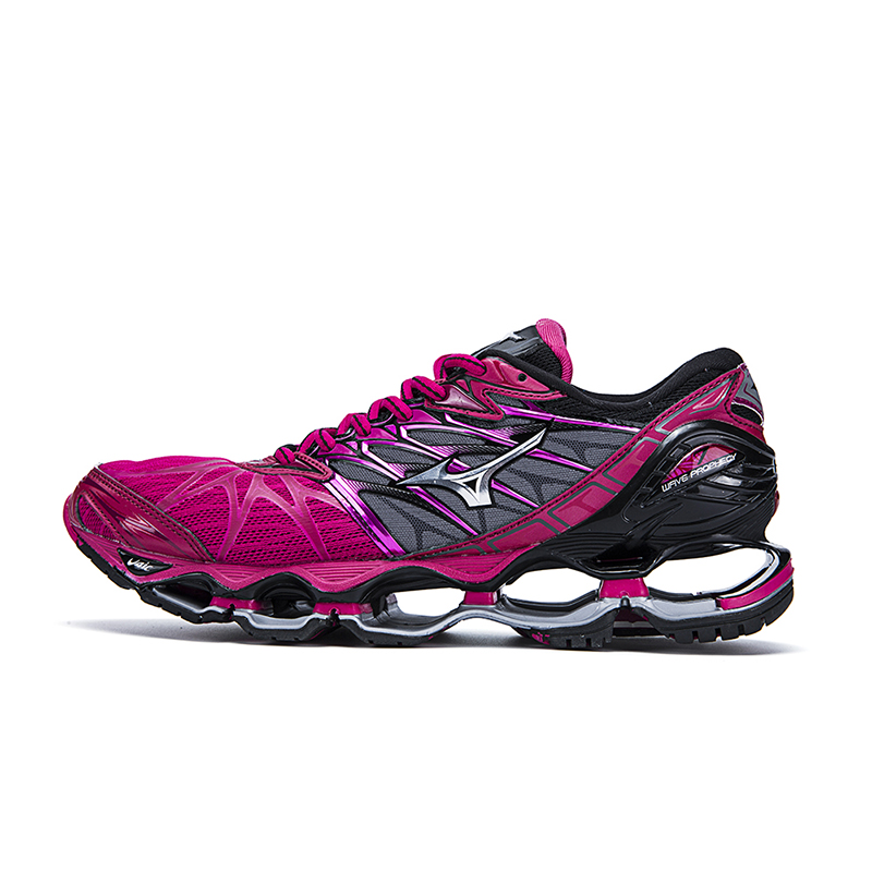 new style 096ab aff19 US $63.38 32% OFF|Mizuno Wave Prophecy 7 Professional Shoes for Men 5 Color  Mesh Lightweight Breathable Air Cushion Weightlifting Shoes Lace up-in ...