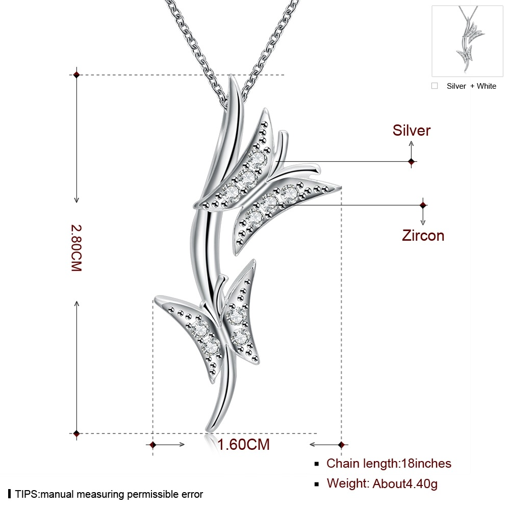 Hot new 925 sterling silver jewelry creative art butterfly pendant ...