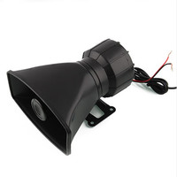 Hot Sale DC12V 100W 5 Sound Tone Wehicle Car Motor Motorcycle Van Truck Siren Loud Horn Auto Speaker Alarm Accesrrory