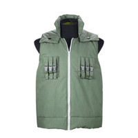 Japanese Anime Naruto Hatake Kakashi Cosplay High Quality Vest Jacket S XXL Unisex Party