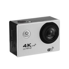 4K Wifi Экшн-камера 1080P Hd 16Mp камера на шлем Водонепроницаемая Dv с дистанционным управлением спортивная видео Dvr белая