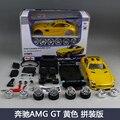 Цифра 1:24 GT coupe AMG Benz mylch DIY сборки модели здание имитационная модель сплава автомобиля игрушки коллекция подарок игрушки высокого качество