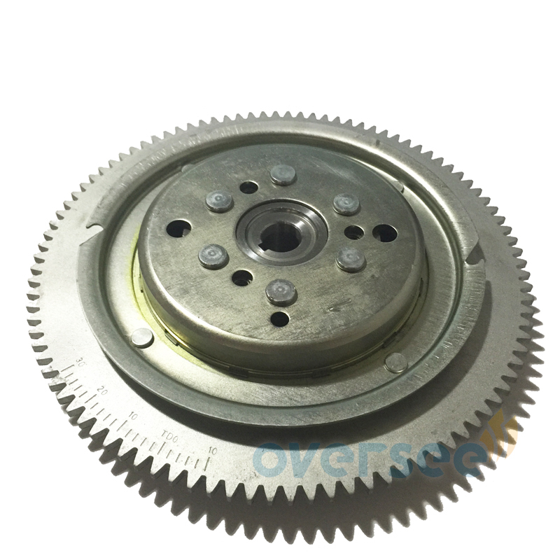61T-85550-10 ROTOR Flywheel Replaces For ParsunYamaha Outboard Engine 25HP 30HP 61N 69P 61T 1