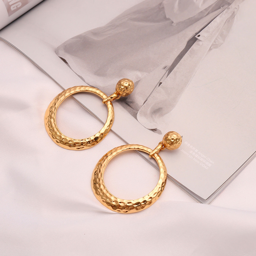 Women Fashion Alloy Earrings Ear Ring Combination Of Fashion Simple Earrings suitable for many occasion Jewelry Accessories 0425