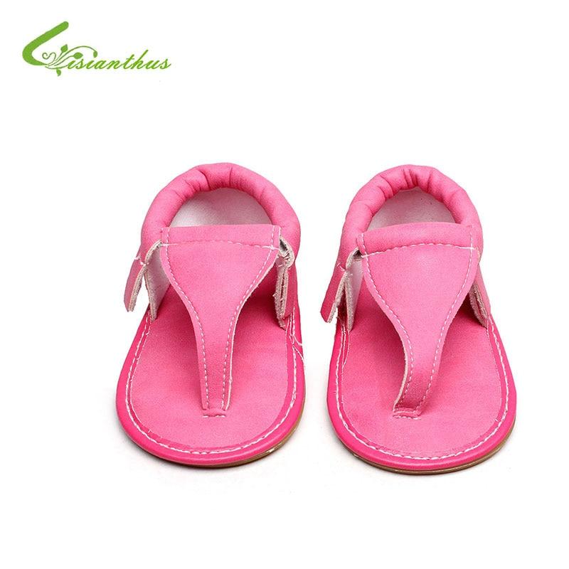 2018 Summer Baby First Walkers Toddler Newborn Baby Girls Boys Shoes Summer Sandales Shoes Anti-slip Flip Flop Prewalker