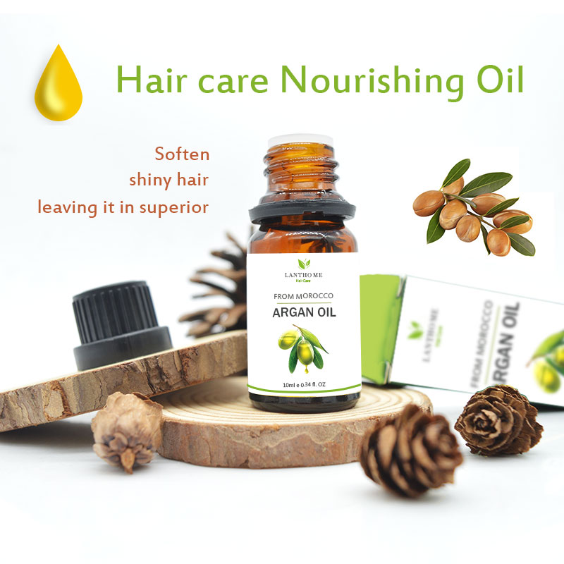 Pure natural morocco argan oil damage dry hair repair treatment New 100% keratin smooth hair straightening hair care products