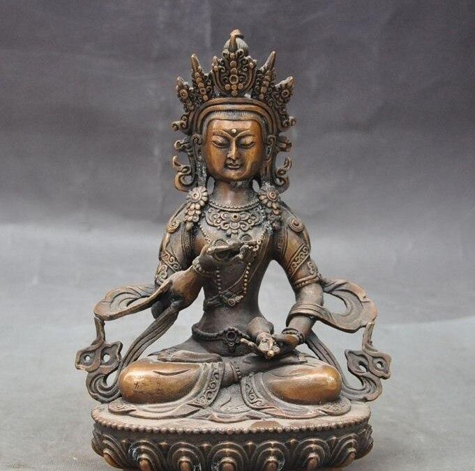 8Old Tibet Buddhism Joss Bronze Vajrasattva Phurpa Tara Goddess Kwan-yin Statue8Old Tibet Buddhism Joss Bronze Vajrasattva Phurpa Tara Goddess Kwan-yin Statue