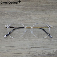 Gmei Optical S9089 Transparent Eyeglasses Frame For Men And Women Prescription Spectacle Eyewear Glasses