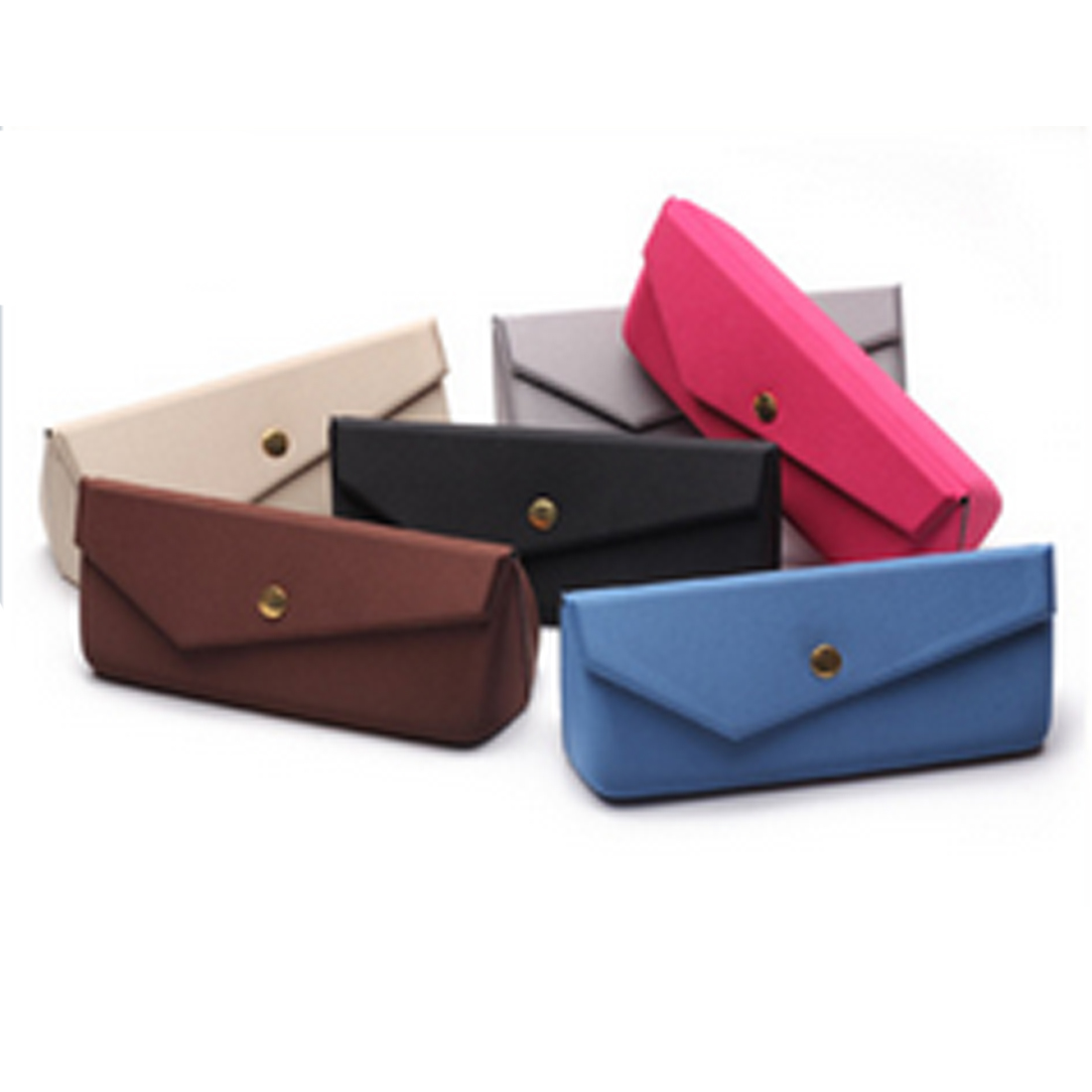 Apparel Accessories Steady 6 Colors Available Spectacle Cases 1 Pc Protable Light Triangular Fold Glasses Case Eyeglass Sunglasses Protector Hard Box Soft And Antislippery Eyewear Accessories